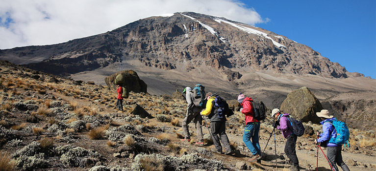 Climbing Kilimanjaro Marangu Route